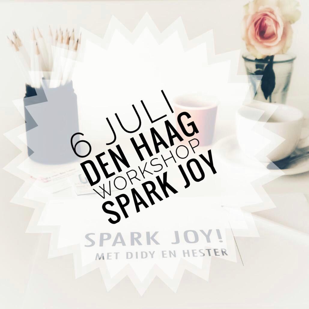 workshop spark joy 6 juli